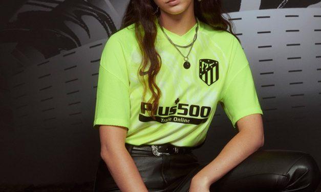 Les nouveaux maillots de foot Atletico Madrid 2021