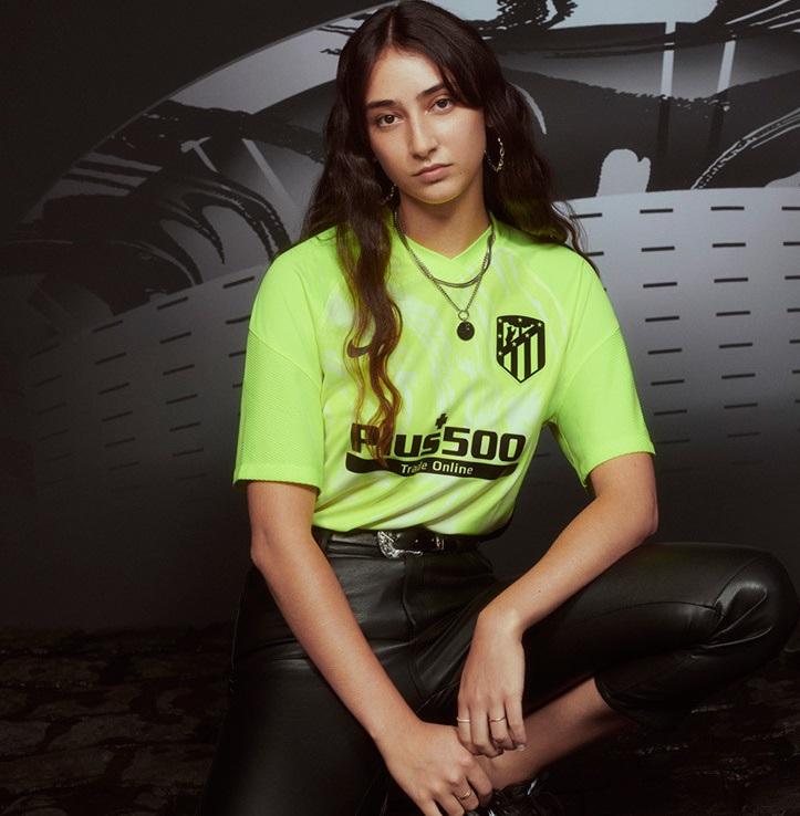 Atletico Madrid 2021 nouveau troisieme maillot foot