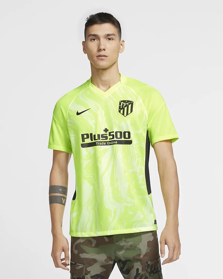 Atletico Madrid 2021 nouveau troisieme maillot football