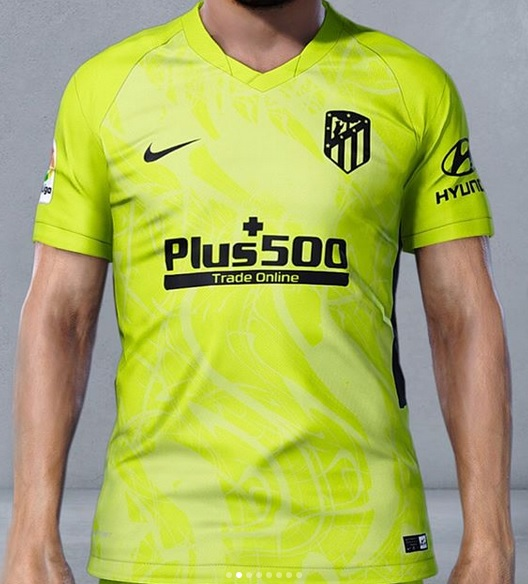 Atletico Madrid 2021 troisieme maillot third