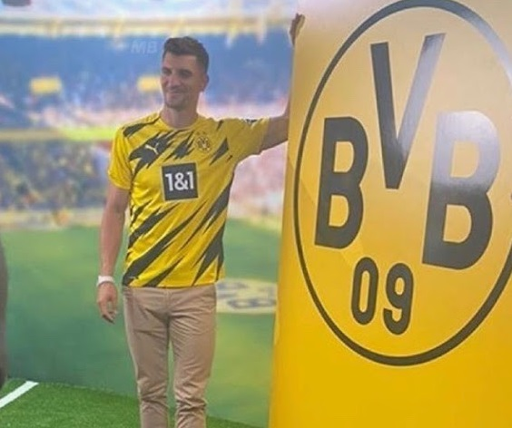 BVB Dortmund 2021 maillot domicile Meunier