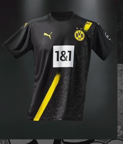 BVB Dortmund 2021 maillot exterieur officiel