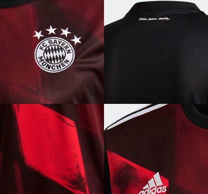 Bayern Munich 2021 2021 troisieme maillot third foot