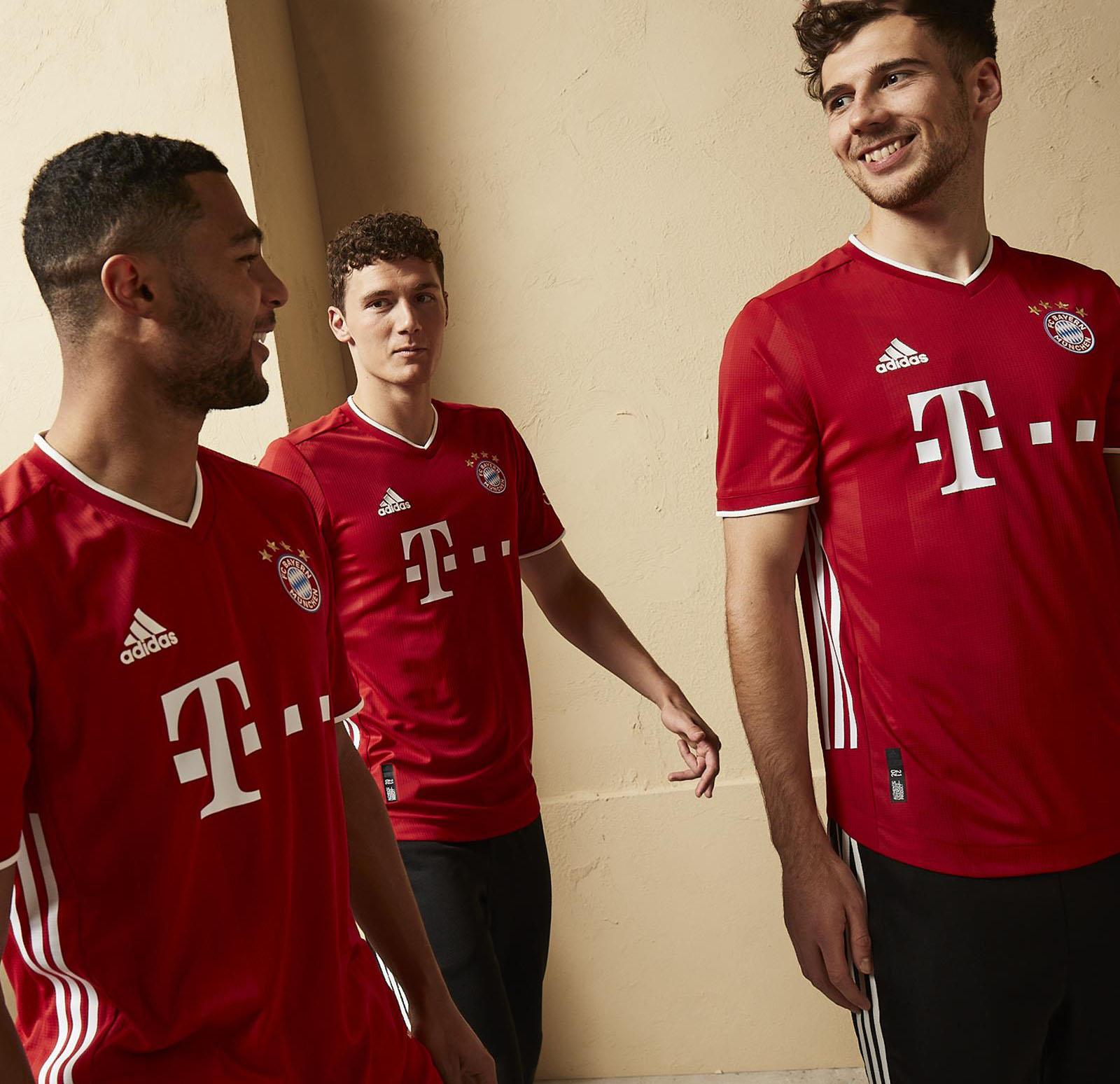 Bayern Munich 2021 maillot domicile foot