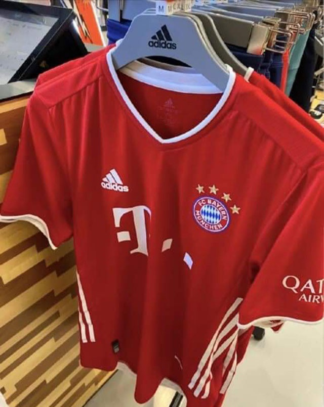 Bayern Munich 2021 maillot domicile football
