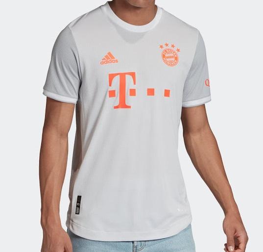 Bayern Munich 2021 maillot exterieur