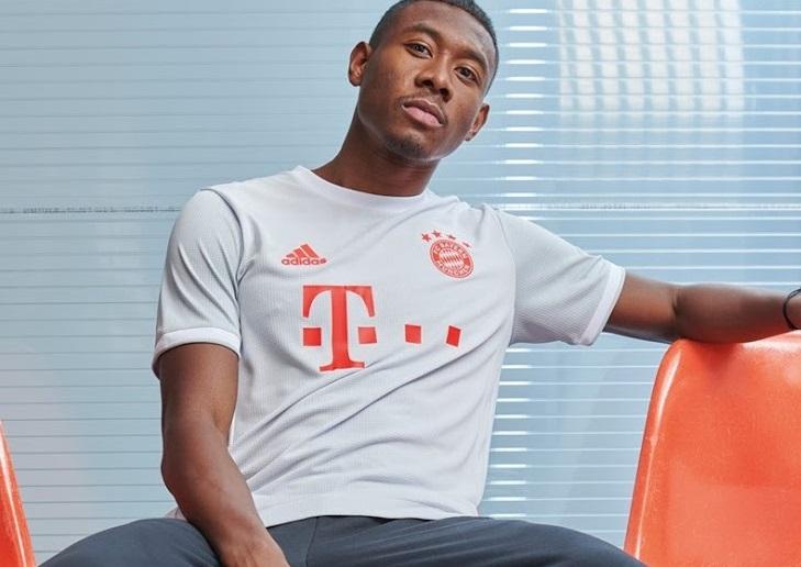 Bayern Munich 2021 maillot exterieur Adidas