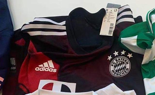 Bayern Munich 2021 nouveau maillot third