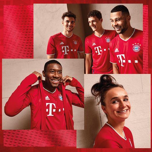 Bayern Munich 2021 nouveau maillot de foot domicile