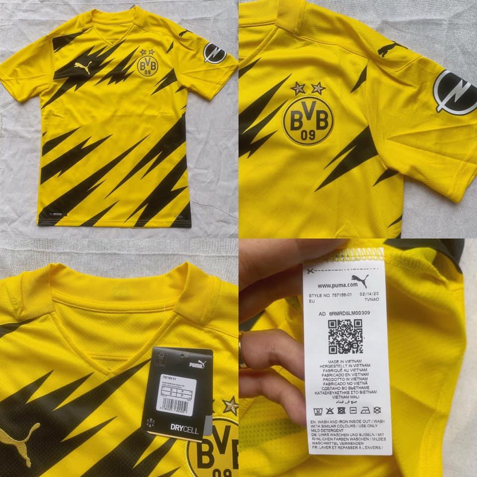 Borussia Dortmund 2021 maillot domicile foot