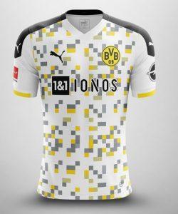 Borussia Dortmund maillot third possible 2020 2021