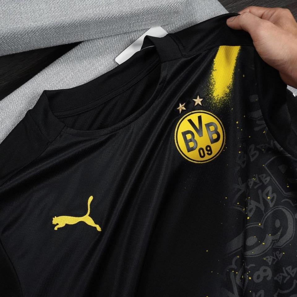 Dortmund 2020 2021 maillot exterieur Puma