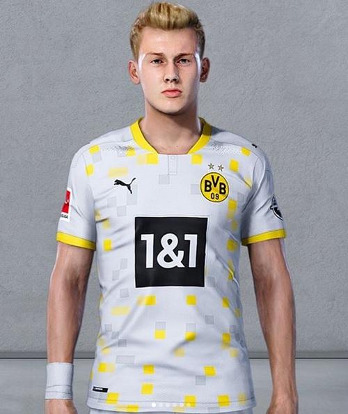 Dortmund 2021 maillot de foot third