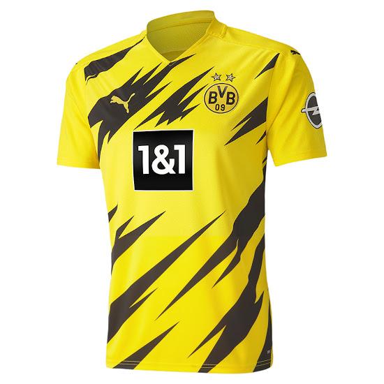 Dortmund 2021 maillot domicile Puma