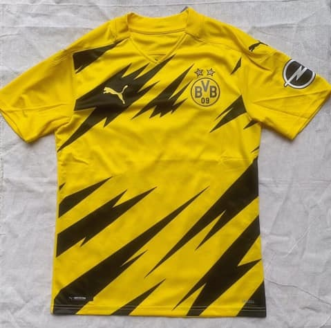 Dortmund 2021 maillot domicile football