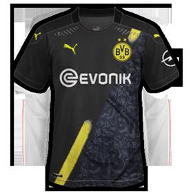 Dortmund 2021 maillot exterieur foot