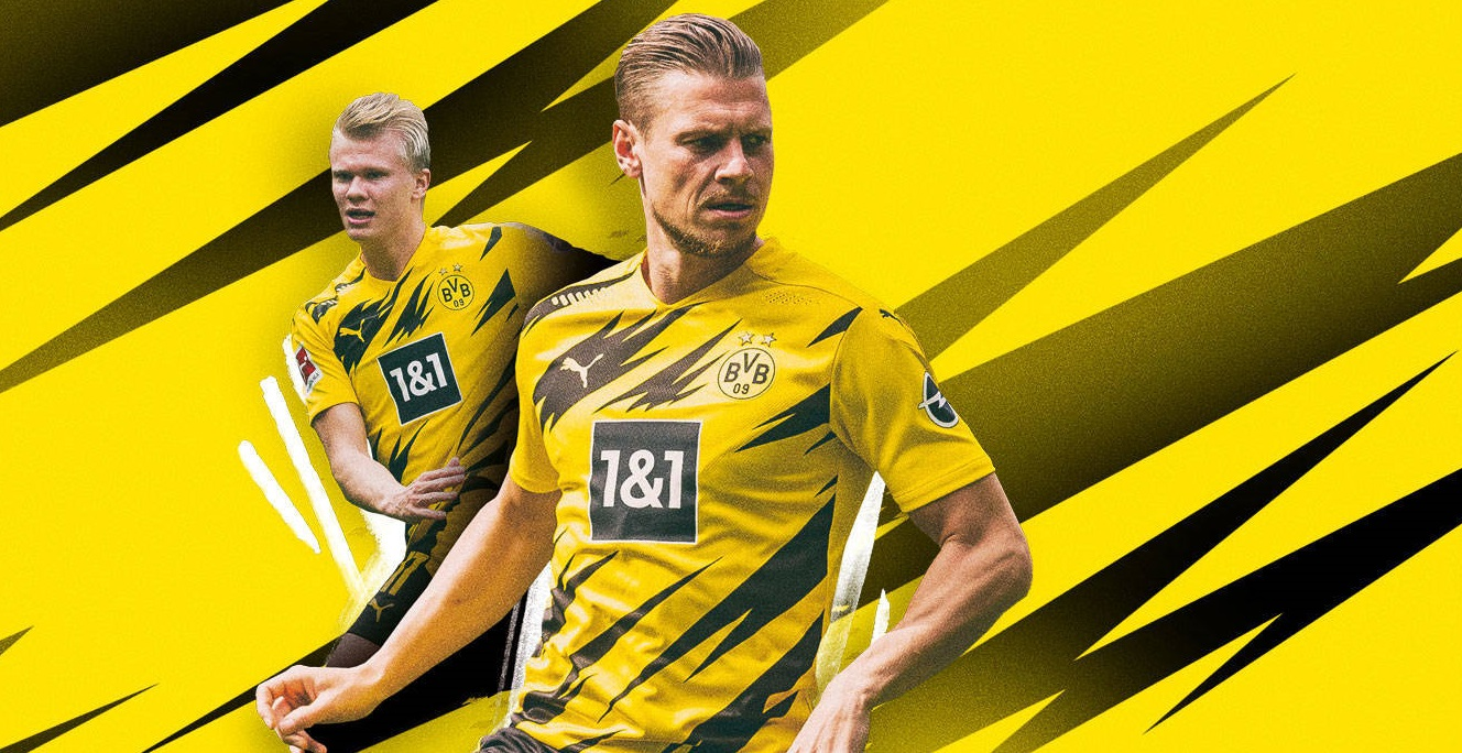 Dortmund 2021 maillot officiel domicile BVB Puma
