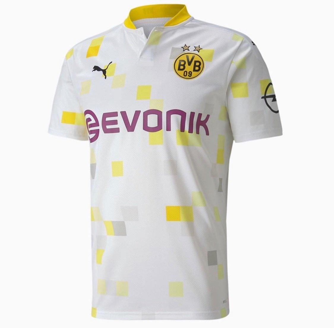 Dortmund 2021 nouveau maillot third