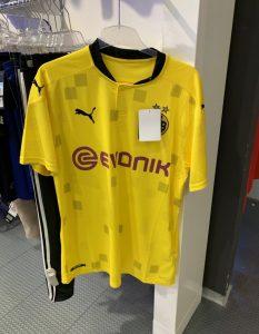 Dortmund 2021 quatrieme maillot de foot coupe ligue champions