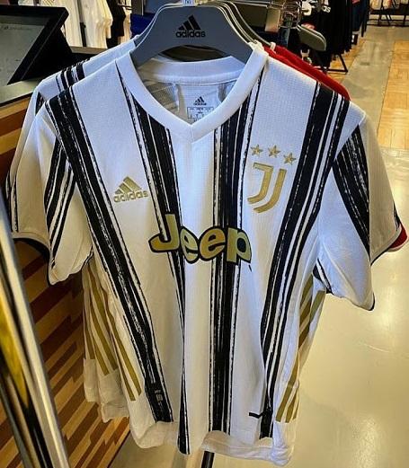 Juventus 2020 2021 maillot foot domicile