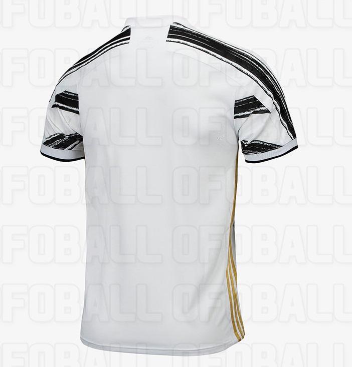Juventus 2021 dos maillot domicile 20-21
