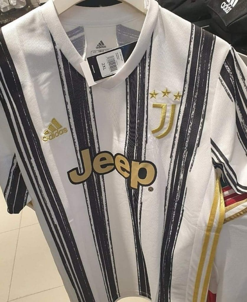 Juventus 2021 maillot foot domicile