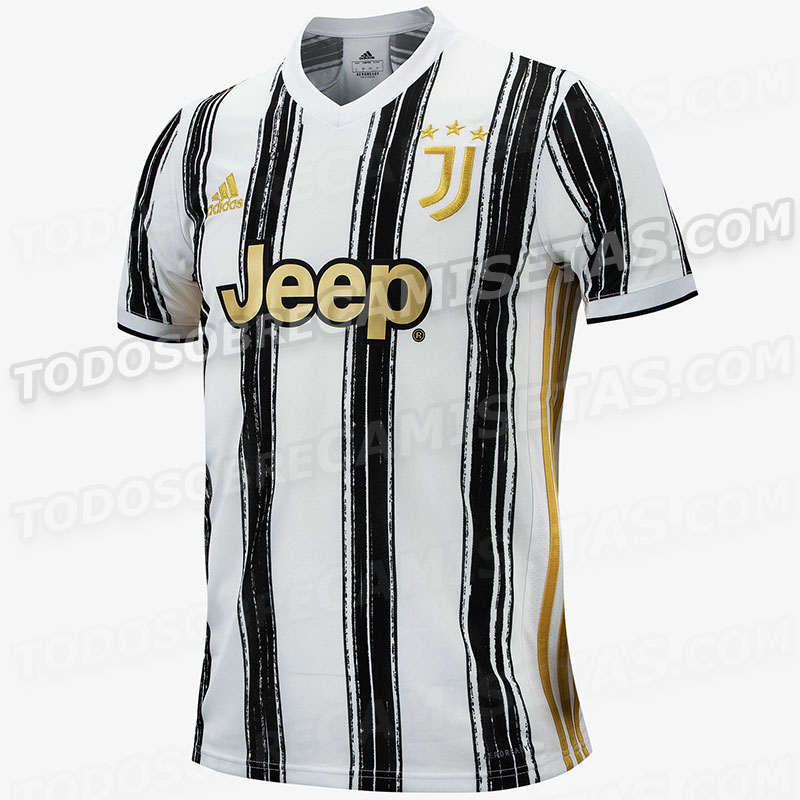 Juventus 2021 maillot football domicile