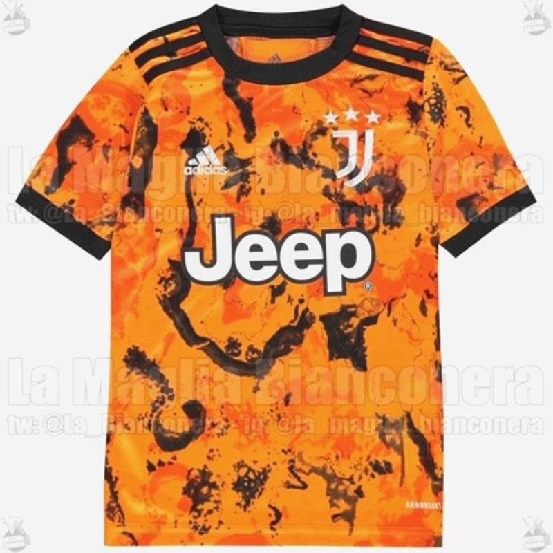 Juventus 2021 maillot third Adidas