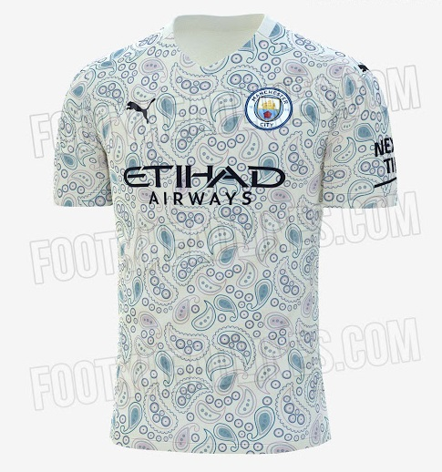 Manchester City 2021 3eme maillot third probable