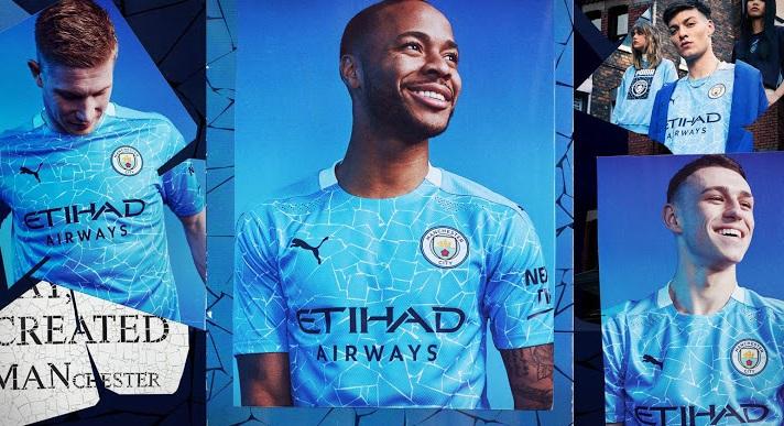 Manchester City 2021 maillot de foot domicile