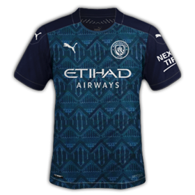 Manchester City 2021 maillot de foot exterieur