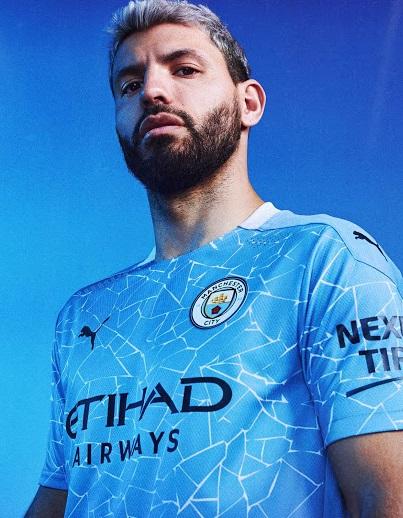Manchester City 2021 maillot de football domicile