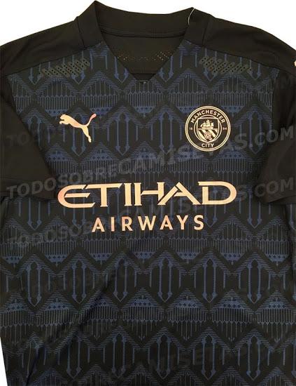 Manchester City 2021 maillot de football exterieur