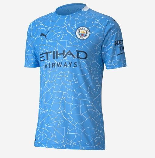 Manchester City 2021 maillot domicile Puma