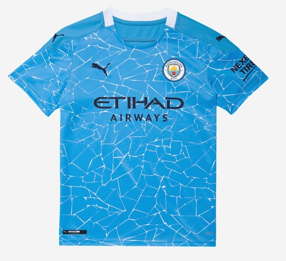 Manchester City 2021 maillot domicile foot