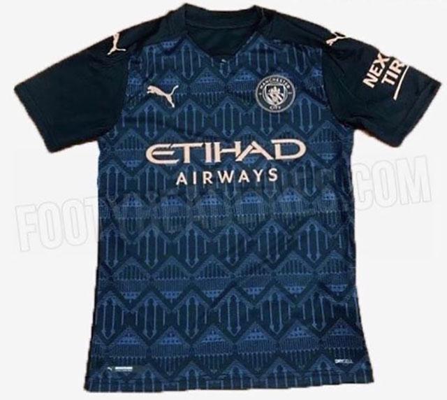 Manchester City 2021 maillot exterieur football
