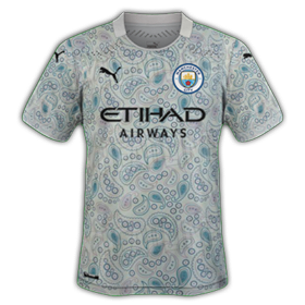 Manchester City 2021 maillot third foot