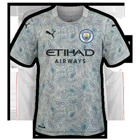 Manchester City 2021 maillot third foot