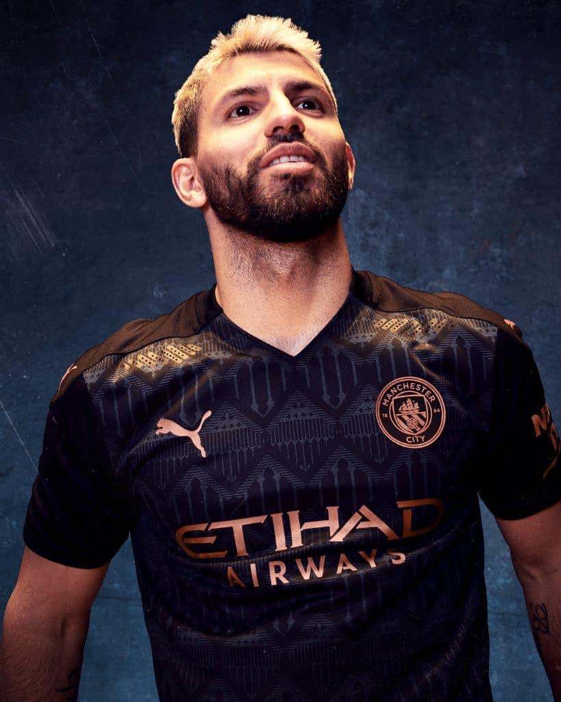 Manchester City 2021 nouveau maillot exterieur Aguero
