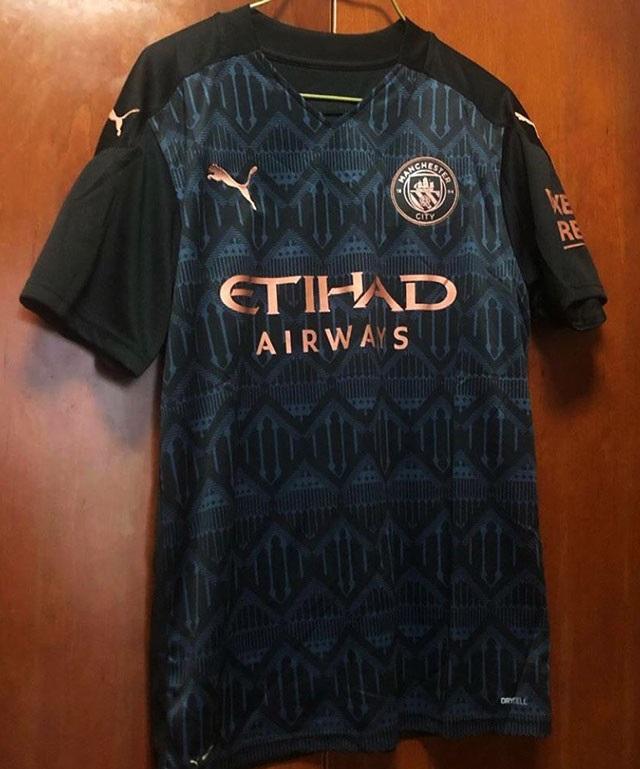 Manchester City 2021 nouveau maillot exterieur