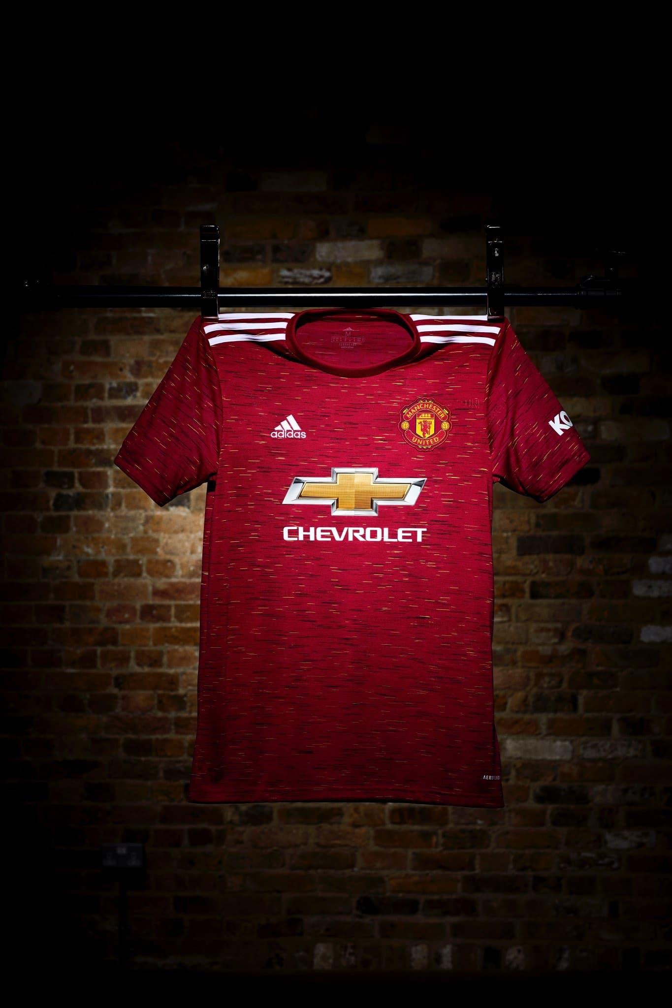 Manchester United 2020 2021 nouveau maillot domicile
