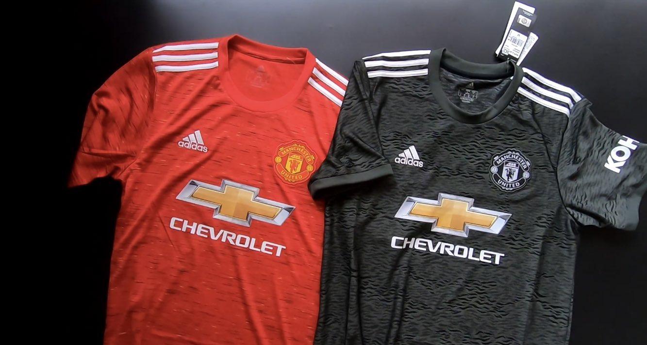 Manchester United 2020 2021 nouveaux maillots de foot