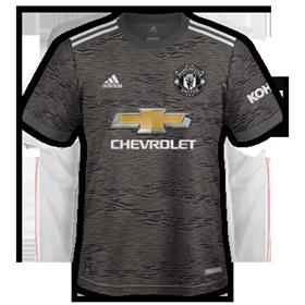 Manchester United 2021 maillot de foot exterieur