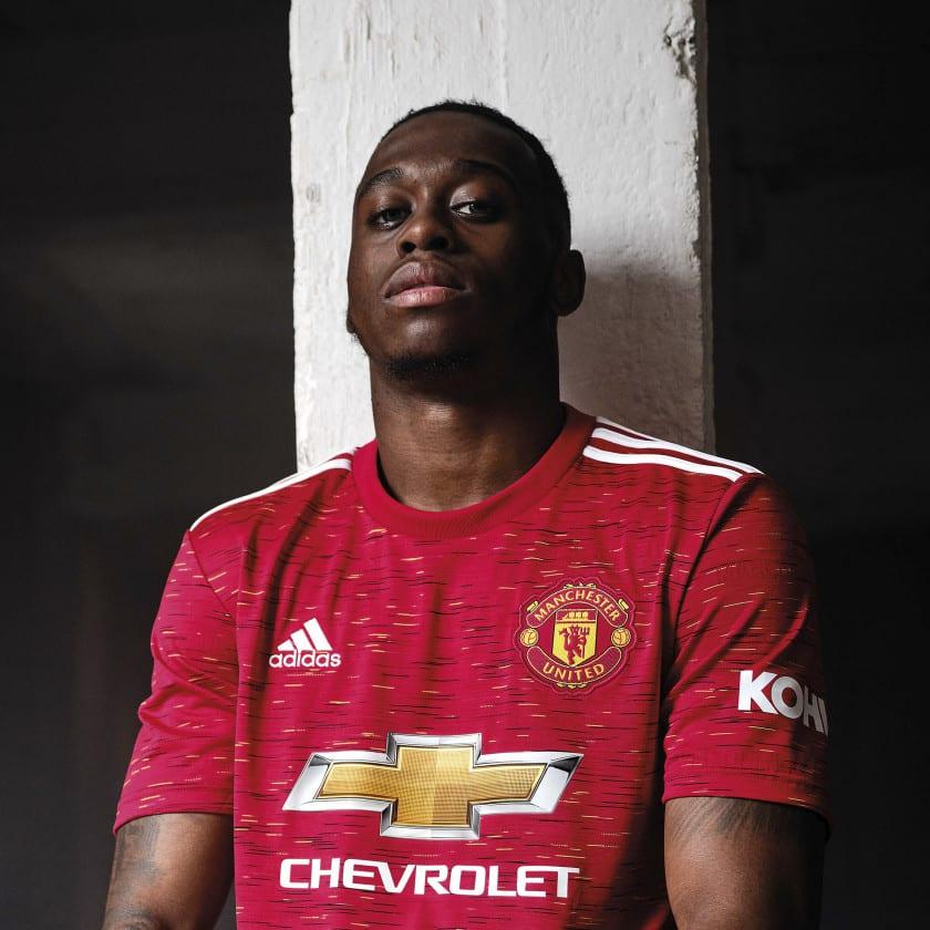 Manchester United 2021 maillot de football domicile