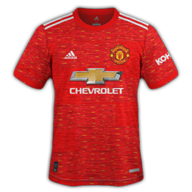 Manchester United 2021 maillot domicile foot