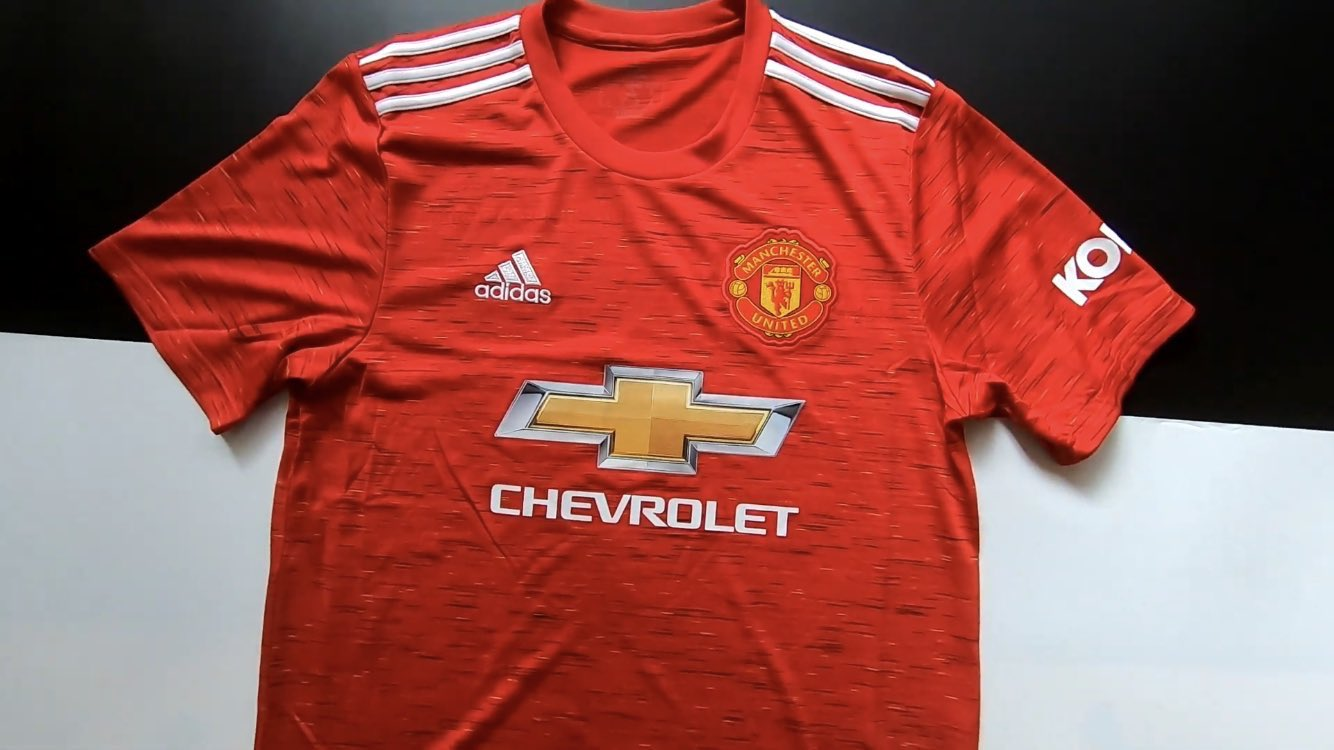 Manchester United 2021 maillot domicile