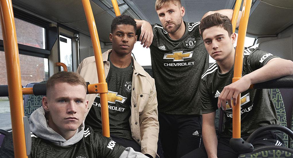 Manchester United 2021 maillot exterieur officiel