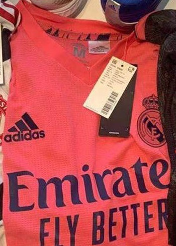 Real Madrid 2021 maillot de foot exterieur
