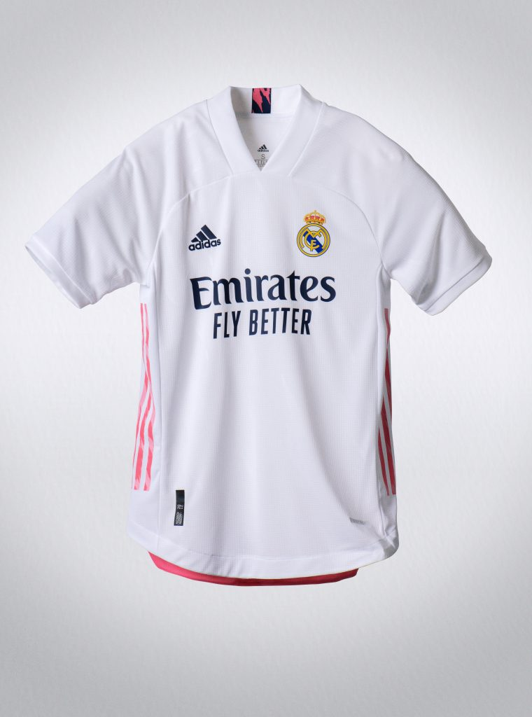 Real Madrid 2021 maillot domicile Adidas