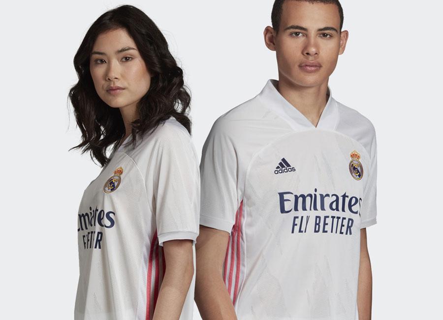 Real Madrid 2021 maillot domicile foot officiel